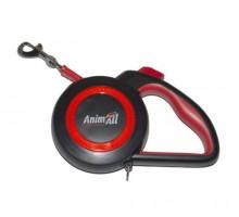 AnimAllрулетка-поводокREFLECTORдо50кг/5метраL