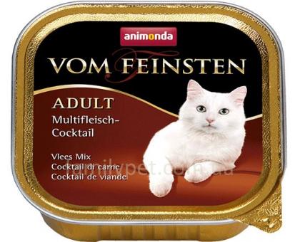 Animonda Консерва для взрослых кошек мульти мясной коктейль