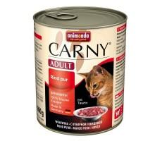 Animonda Carny Консерва для взрослых кошек с отборной говядиной
