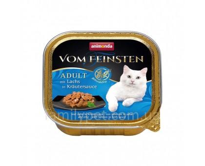 Animonda Консерва для взрослых кошек с лососем в соусе из трав (Беззерновой) 100 гр
