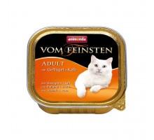 Animonda Консерва для взрослых кошек с телятиной и домашней птицей 100 гр