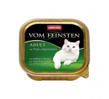 Animonda Консерва для взрослых кошек с кроликом и индейкой 100 гр