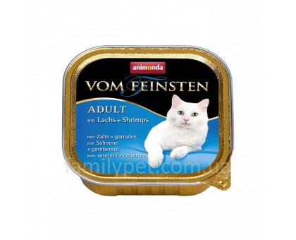 Animonda Консерва для взрослых кошек с лососем и креветками 100 гр