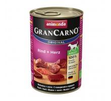 Animonda GranCarno Консерва для взрослых собак c говядина и сердце 800 гр