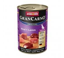 Animonda GranCarno Консерва для взрослых собак c говядина и ягненком 800 гр