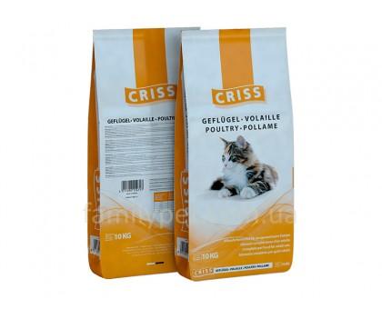 CRISS Корм для кошек Домашняя птица, 10кг