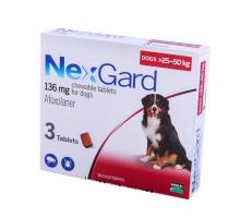 NexGard (Нексгард) Таблетка от блох и клещей для собак 25-50 кг