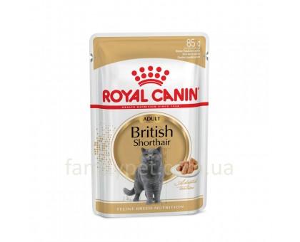 Royal Canin British Shorthair Adult 85 гр