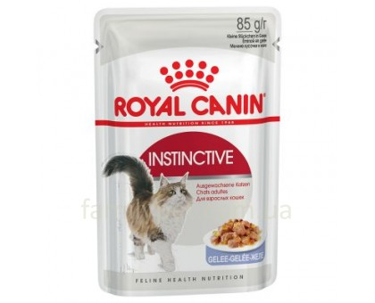 Royal Canin Instinctive In Jelly 85 г