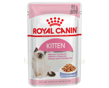 Royal Canin Kitten Instinctive In Jelly 85 г