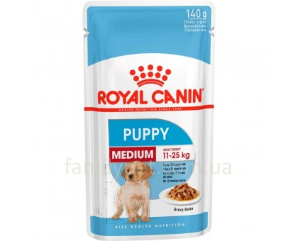 Royal Canin Medium Puppy 140 гр