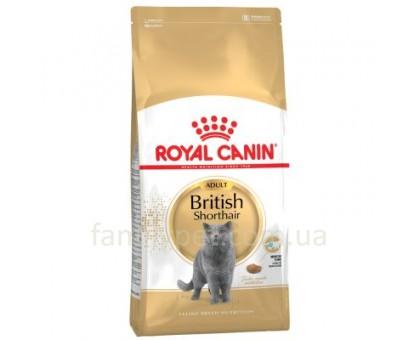Акция Royal Canin British Shorthair Adult 10кг