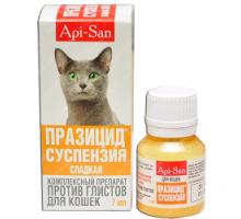Празицид Суспензия Плюс (Api-San) Антигельминтик для кошек