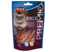 Trixie PREMIO Carpaccio Лакомство для кошек с уткой и рыбой 20 г